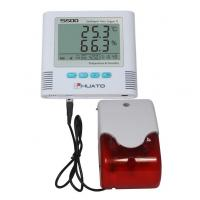 China Sound Light Alarm  High Accuracy Temperature Humidity Data Logger HUATO S500-EX wholesale