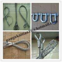 China CABLE GRIPS,Wire Mesh Grips,Cord Grips,cable pulling socks,Wire Cable Grips wholesale