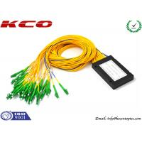 China LC APC Fiber Optic PLC Splitter wholesale