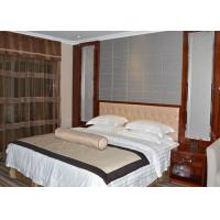 China Custom Rosewood Veneer Commercial Hotel Furniture Strong Modern Bedroom Set wholesale