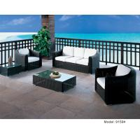 China 5 piece -weather resist PE wicker arm club chair and  3 seater sofa  -9159 wholesale