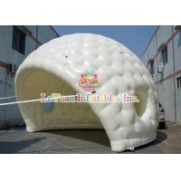 China Flexible White Outdoor Inflatable Tent With Golf Shape Constantly Blowing on sale