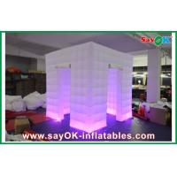 China Waterproof Blow Up Photo Booth Inflatable Oxford Cloth For Amusement Park on sale