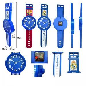 China OEM fashion design watch shape wall clock wholesale
