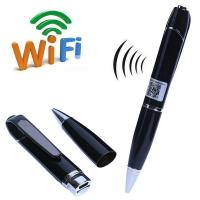 720P HD WIFI P2P Pen Spy Hidden Camera Covert Video Streaming Recorder Home Security Nanny Camera Remote Baby Monitor