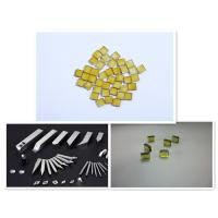 Quality 3.5X3.5X1.1 yellow Synthetic industrial CVD MCD diamond plate for sale