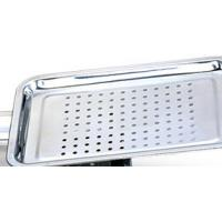 China High Temperature Resistant Stainless Steel Mesh Tray / Food Punching Tray With Healthly wholesale