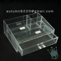 China BO (62) acrylic make up organizer case wholesale
