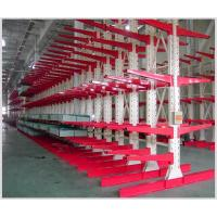 China Industrial Warehouse Or Economical Steel Pipe Storage Racks Used Cantilever Rack on sale