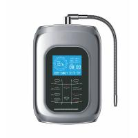 China 2017 alkaline water ionizer with 9999liter inner filter with touch control with voice and 100% kangen water outlet on sale