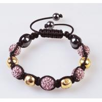 China 2012 new fashion Shamballa 10mm CZ Crystal Bangle Bracelet, OEM / ODM wholesale