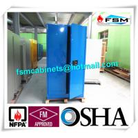 Quality Industrial Corrosive Chemical Storage Cabinets With Adjustable Shelf Double Door for sale