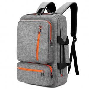 China 17 Inch Laptop Tote Bag Grey Color , Travel Laptop Backpack Computer Bag wholesale