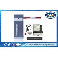 China Smart Parking Barrier Gate System Inverter AC Motor Aluminium Alloy Arm Material on sale
