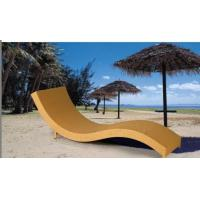 China Outdoor rattan chaise lounge chair-16071 wholesale