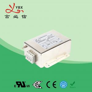 China Custom Magnetic 3 Phase EMI Filter 30A Motor Wave Interference Power wholesale