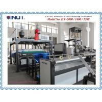 Buy cheap Auto feeding Air Bubble Film Machine Customized for The Asia With bubble Specification ɸ30x10mm Model DY-2000 from wholesalers