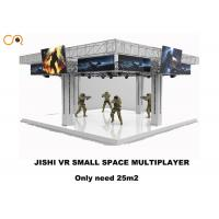 China 4 Players 360 Degree Virtual Reality Simulator With Vr Shooging Games  / 43 Inch Screen wholesale