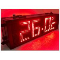 China RS485 LED Gas Station Sign with Static State Display Dot Front Side Maintenance wholesale