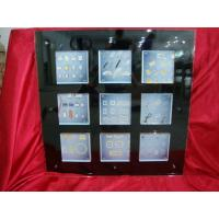 China 9 Compartments Black Transparent Acrylic Photo Frames 30 * 30 inch wholesale