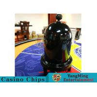 China Security Fair Casino Game Accessories Black Color Automatic / Manual Dice Cup wholesale