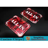 China Texas Holdem Poker Table All In Brand Dealer Button For The Poker Games wholesale