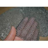 Buy cheap 304L Stainless Steel Welded Rings Chainmail Mesh Fabric For Decoration And from wholesalers