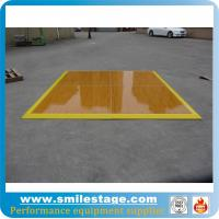 Buy cheap Aluminum frame dance floors with wooden platform for banquet product