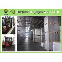 China Anti Curl Wood Pulp Board Paper , GC1 GC2 / C1S Ivory Card Paper For Book Covers wholesale
