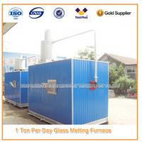 China Moveable Gas Glass Melting Furnace wholesale