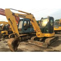 China Japan original used midi excavator komatsu pc55mr-2 excavator with balde wholesale