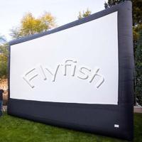 China rear projection inflatable movie screen on sale