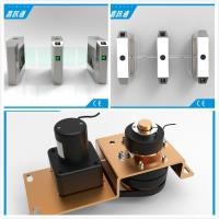 China 1.5mm Steel Waist High Turnstile Swing Barrier Gate For Biometric Access Control wholesale