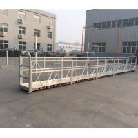 China Customized Suspended Access Platforms Max Lifting Height 300m For Building Walls wholesale