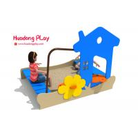 China Sand Pit Plastic Playground Equipment Pe Board Eco - Friendly Hdpe Material on sale