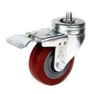 "China 4"" TPR swivel caster wheels wholesale"