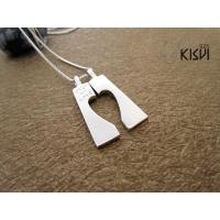 China Hot selling white / rose gold jewellery 925 sterling silver pendant W-VB1026 wholesale
