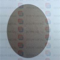 Buy cheap titanium metal porous plate for hydrogen generators H2 industry from wholesalers