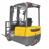 China 2 Ton Three Wheel Electric Forklift , Electric Warehouse Forklift Lifting Equipment wholesale