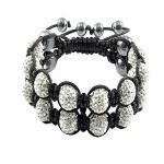China Crystal Bangle Bracelets CJ-B-119 wholesale
