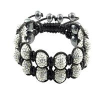 Quality Crystal Bangle Bracelets CJ-B-119 for sale