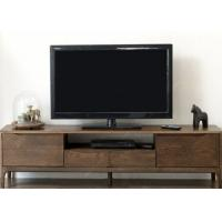 China Long Hotel TV Cabinet Walnut Solid Wood Frame Modern Style 1800 *4 00 * 480 wholesale