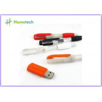 China 2 In 1 Multifunction Plastic Blue Usb Pen Memory Stick For Students , Teacher And Officer wholesale