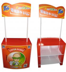 Tide Fancy Soap POP UP Floor Displays with bins display inside