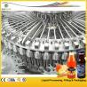 China PET / Plastic Bottle Juice Filling Machine , Automatic Rotary Juice Filling Equipment wholesale