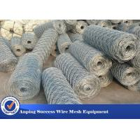 China Heavy Duty Economical Gabion Wire Mesh Roll / Gabion Wall Mesh For Guiding Bank wholesale