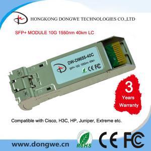 China 10GBASE-ER SFP+ Module SFP-10G-ER on sale