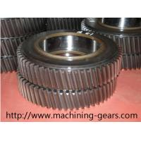 China Machinery Parts Large Diameter Spur Helical Gear 20mm - 2200mm Diameter wholesale