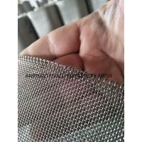 China Stainless steel wire mesh with reinforcement wire on side,strong quality woven wire mesh wholesale