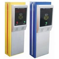 China Stainless steel or Iron baking paint parking ticket dispenser with RS232 / RS422 interface wholesale
